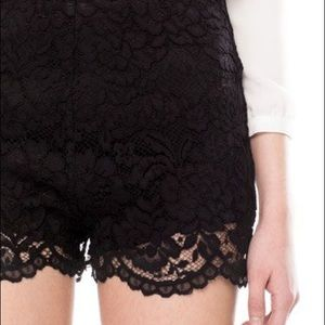 **New with Tags** Stradivarius Lace Shorts